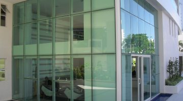 Fachada Glazing M2